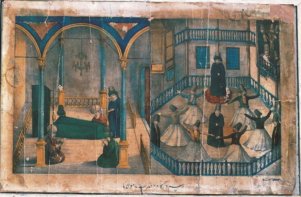 Resim: Dergâh-ı Hazret-i Mevlânâ