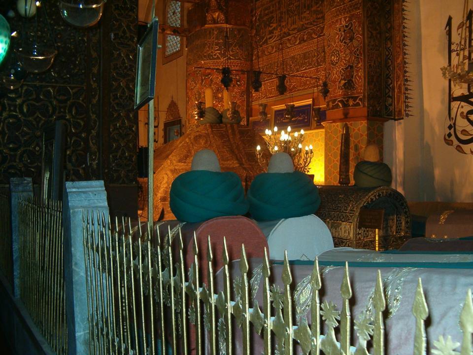 Türbe-i Şeriften Görüntüler, Konya
