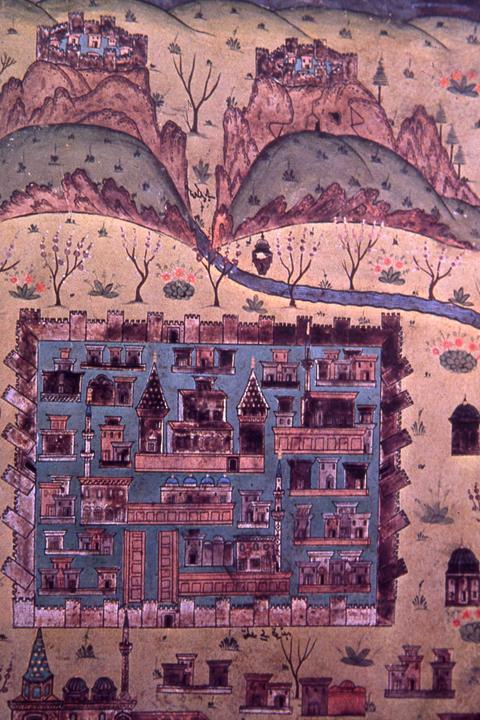 Matrakçı Nasuh'un Konya Minyatürü